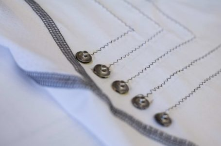 پیراهن هوشمندی که با الیاف نانولوله کربنی ضربان قلب را پایش میکند